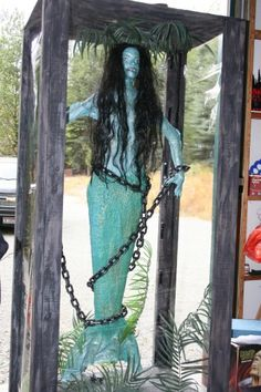 Halloween prop: captured mermaid (if I do a pirate theme someday)