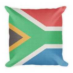 South African Knitted Style Pillow