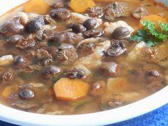 Szegfűgombából főztem levest. Curry, Keto, Ethnic Recipes, Food, Curries, Essen, Meals, Yemek, Eten