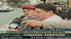 San Borja: Sujeto acusado de trata de personas causa alboroto en su detención