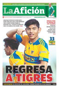 Portada La Aficion Monterrey 10/05/14 | REGRESA A TIGRES