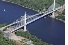 Penobscot Narrows Bridge.  Bucksport, Maine