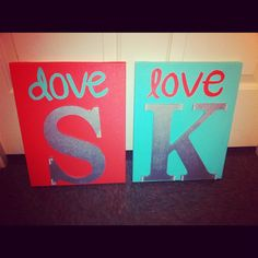 Sigma Kappa but with teal and white background and yellow letters to match my office :)