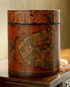 Antique Wooden Container