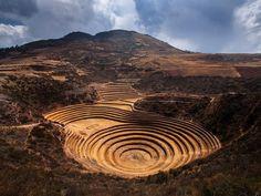 Ruínas de Moray   Maras – Peru