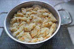 Galuschki – Rezept für Galuschki-Suppe & gebratene Galuschki Food Lists, Macaroni And Cheese, Keto, Cooking, Ethnic Recipes, Bolognese, Chutney, Ukraine, Buffet