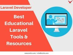 Techtic Solutions prepared a list of 8 best educational Laravel tools and resources for laravel developers. Techtic Solutions is one of the top notch laravel d… Web Application, Open Source, Web Development, 10 Years, Apps, Touch, Education, Website, Simple