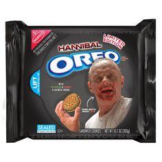 Horror movie Oreos.