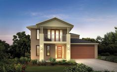 Metricon Home Designs: The Alto - Coastal Facade. Visit www.localbuilders.com.au/builders_nsw.htm to find your ideal home design in New South Wales