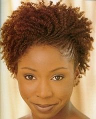 natural hair styles for black women - Google Search