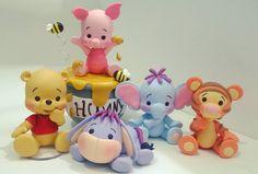 Is Porcelain China Polymer Clay Disney, Polymer Clay Figures, Cute Polymer Clay, Cute Clay, Fondant Figures, Polymer Clay Charms, Diy Clay, Clay Crafts, Felt Crafts