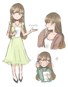 more doodles of the mc,,