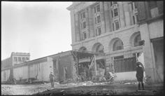 304413PD: Demolition of Central Arcade to create Forrest Place, Perth, 1922 https://encore.slwa.wa.gov.au/iii/encore/record/C__Rb3348247