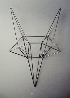 i want it - for my mantle  Bongo designs- small steel fox.