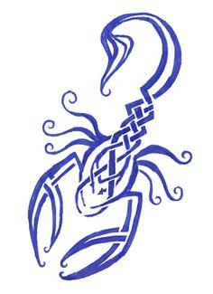 Celtic Scorpion Tattoo