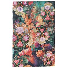 Grand Bazaar Boudreau Multicolored Wool Rug (5' x 8'), Multi, Size 5' x 8' (Cotton, Abstract)