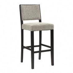 The Zoe Bar Stool exudes sleek modern style and appeal. The black finished, straight lined legs keep the stool sophisticated, while the chevron styled Bridgeport Fabric upholstery adds fun flair to the piece. Sturdy and durable, the Zoe Stool is the High Top Table Kitchen, High Dining Table, High Top Tables, Dining Room Bar, Dining Area, Black Counter Stools, 24 Bar Stools, Kitchen Stools, Kitchen Island