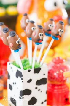 Toy Story Birthday Party with SO MANY REALLY CUTE IDEAS via Kara's Party Ideas | KarasPartyIdeas.com #ToyStoryParty #Party #Ideas #Supplies (15)