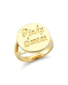 Elizabeth and James Pinky Swear Ring
