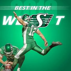 Go Rider, Saskatchewan Roughriders, Canadian Football, Green Colors, Quilts, Sports, Fictional Characters, Hs Sports, Colors Of Green
