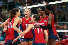 Team USA Women's Volleyball Team