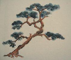 Pine Tree by liralenli.deviantart.com on @DeviantArt