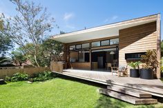 Balgowlah Residence Bungalow Renovation, Clerestory Windows, House Made, Open Plan Living, Home Reno, Little Houses, Bay Window, Cladding, Beach House
