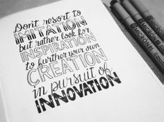 www.lacavalieremasquee.com / Sean McCabe: Hand Lettering Quotes