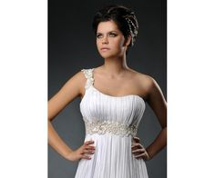 Godess Style Wedding Dress
