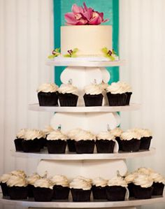 Hmm.. Thinking something along this line with our cake...