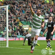 Charlie Mulgrew claims the goal but his efforts were in vain and striker Anthony Stokes was awarded the goal