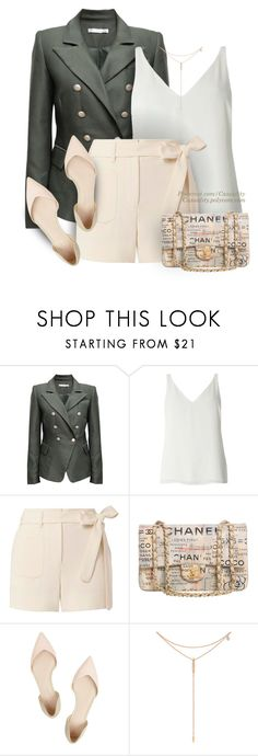 """Chanel & Dorothy Perkins Chic"" by casuality ❤ liked on Polyvore featuring Dorothy Perkins, Helmut Lang, Chanel, Trilogy, 3.1 Phillip Lim and Tacori"