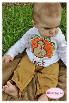 Personalized Turkey Shirts - Boys & Girls | Jane