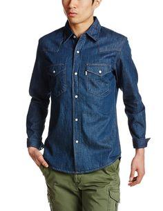 Amazon.co.jp: (エドウイン)EDWIN 【ベーシックシャツ】ウエスタンシャツ長袖: 服&ファッション小物通販