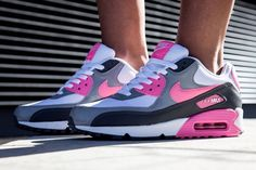 "Nike WMNS Air Max 90 ""Pink Glow"""