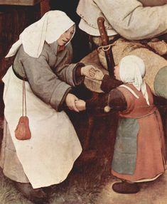 The Peasant Danse (detail) by Pieter Bruegel (1568)