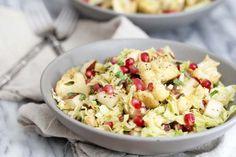 Cabbage, Pear and Roasted Cauliflower Salad: Jessi's Kitchen