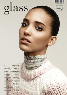 Glass Magazine Autumn 2014 | Cora Emmanuel #Covers2014