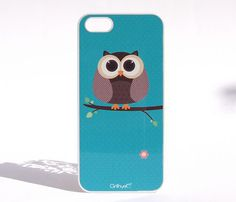 Hard plastic iPhone case, personalized with an illustration from Mexican artist Cinthya Olivares. /// Available for: 4/4S and 5 /// Choose from 2 Styles --- #Owl $25 #iphone #gadget #case