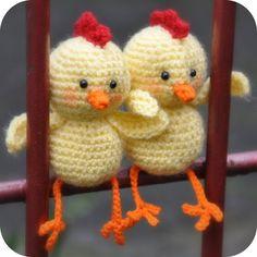 Crochet Pattern: Humphrey the chick (translate to English)