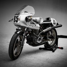 You've heard of a Triton. Well, this championship-winning vintage Yamaha race bike is a 'Yamando,' with an hotrodded XS650 motor in a Norton frame.