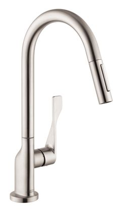 Axor Citterio - Axor Citterio 2-Spray HighArc Kitchen Faucet, Pull-Down | Hansgrohe US