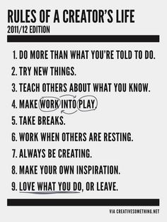 15 Most Inspiring Graphic Manifestos | EcoSalon | Conscious Culture and Fashion