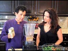 The Chef and The Dietitian-Ep 58- Hail to the Kale Salad Dressing (Reduced Fat version)