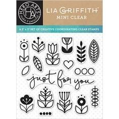 Hero Arts Clear Stamps JUST FOR YOU By Lia CL929 Preview Image