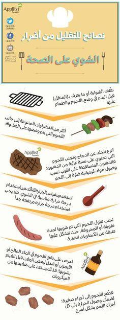 نصائح للتقليل من اثار الشوي على الصحة