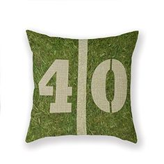 Yecz Home Decor Cotton Linen Square Pillowcase Watercolor Throw Pillow Sham Cushion Cover 18 x 18 ** Click image for more details. Note: It's an affiliate link to Amazon