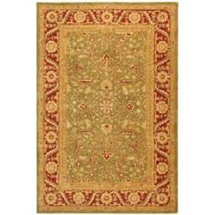 Safavieh Anatolia Green / Red 8 ft. x 10 ft. Area Rug  on  Daily Rug Deals