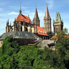 Česko, Kolín - Gotický chrám sv.Bartoloměje