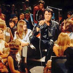 {*Elvis delivering 'Memories' on the 1968 NBC TV Special*}